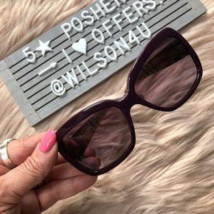 Authentic Burberry B4074 Sunglasses Purple/Plaid